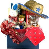 Cowboy Gift Basket