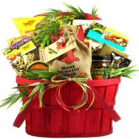 Hot Stuff! Fiesta Gift Basket