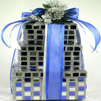 Glittery Gift Tower of Tasty Kosher