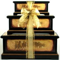 Born Free, Deluxe Trunk Set  with Gourmet Food