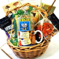 Gone Fishing Gift Basket