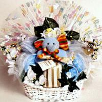 Mommy and Me, New Baby Gift Basket