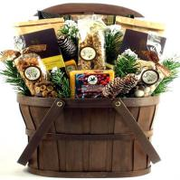 Rustic Rocky Mountain Style Gift Basket