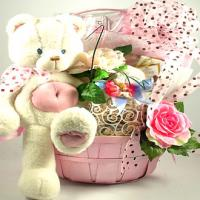 Sweet Celebration, New Baby Gift Basket