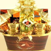 Gold Standard Chocolate Basket