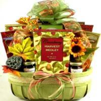 Harvest Gift Basket for Fall or Thanksgiving