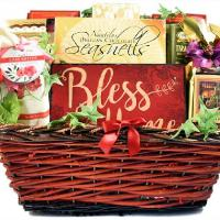housewarming blessing gift basket