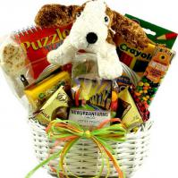 Just For Kids, Fun-Filled Gift Basket For Children