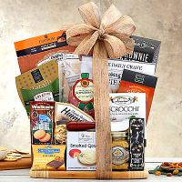 cutting board gourmet food gift set