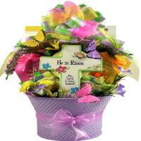 He Is Risen, Easter Gift Basket