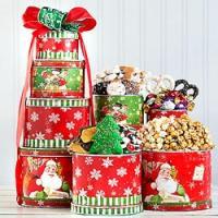 Holiday Gift Tin Tower