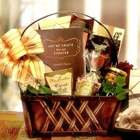 basket of sympathy gifts