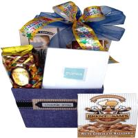 Thank You Gift Box With Gourmet and Book Gift