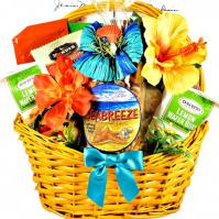 tropical treats gift baskets