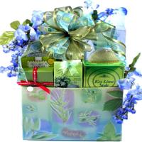 Spa Gift Basket For Her, Wisteria