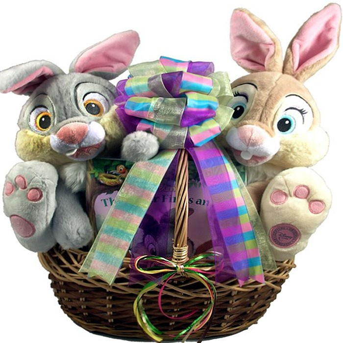 Easter bunny friends easter basket negle Images