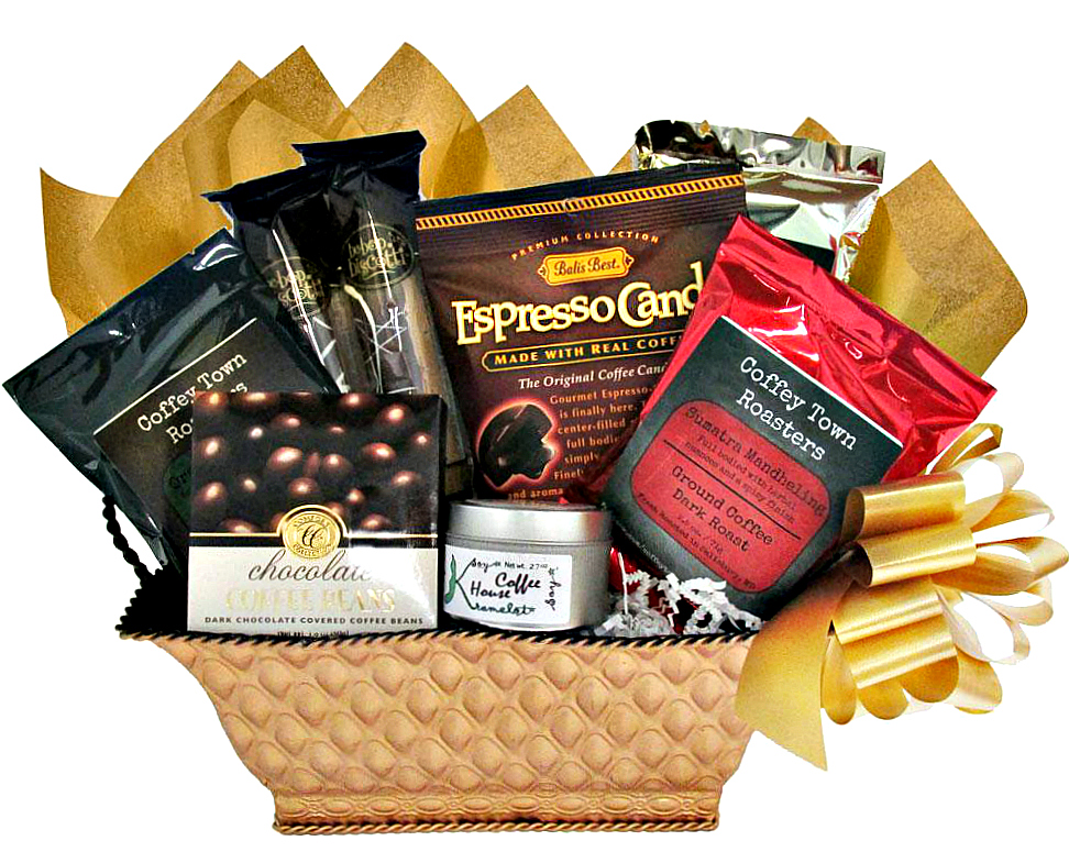 Worldly Gourmet Coffee Basket A Coffee Loveru0027s Dream Gift  sc 1 st  Adorable Gift Baskets & Worldly Gourmet Coffee Basket A Coffee Loveru0027s Dream Gift